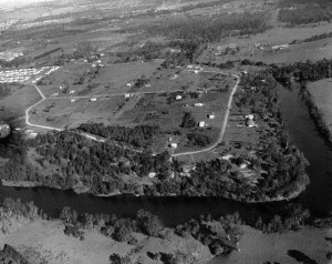 p0166, mid 1960s aerial photograph, lawnton